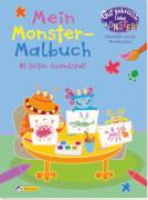 Gut gebrüllt, liebe Monster - Mein Monster-Malbuch