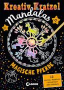 Loewe Kreativ-Kratzel Mandalas: Magische Pferde