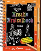 Kreativ-Kratzelbuch: Ponys