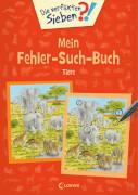 Die verflixten Sieben - Mein Fehler-Such-Buch - Tiere