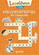 Loewe Leselöwen Kreuzworträtsel für Erstleser. 2. Klasse (Orange)