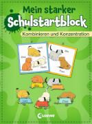 Loewe Mein starker Schulstartblock - Kombinieren und Konzentration
