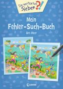 Loewe Die verflixten Sieben - Mein Fehler-Such-Buch - Am Meer