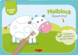 Haba Kreativ Kids  Malblock Bauernhof#