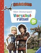 Ravensburger 49149 Dragons Stickerspaß Vorschulrätsel