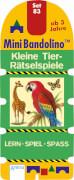 Morton, Christine: Mini Bandolino # Set 83: Kleine Tier-Rätselspiele
