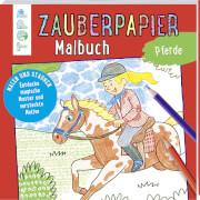 Zauberpapier Malbuch Pferde