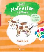 Loewe Mein Malkasten-Malbuch - Bauernhof