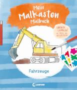 Loewe Mein Malkasten-Malbuch - Fahrzeuge