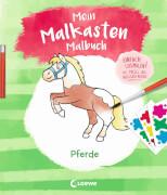 Loewe Mein Malkasten-Malbuch - Pferde