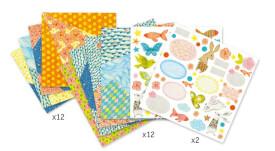 Origami: Kleine Umschläge