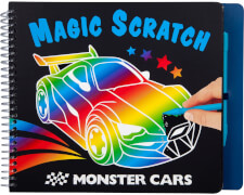 Depesche 10928 Monster Cars Magic Scratch Bo