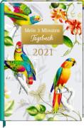 Mein 3 Minuten Tagebuch 2021 - Exotic (B.Behr)