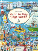 Loewe Wimmelbilderbücher: Wo ist das kleine Segelboot?