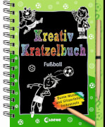 Kreativ-Kratzelbuch: Fußball