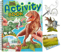 Depesche 10742 Dino World Activity Book