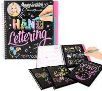 TOPModel Magic Scratch Book Hand Letteri