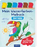 Mein Wasserfarben-Malbuch Zootiere