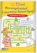 Conni Gelbe Reihe: Herausgefunden! Labyrinthe-Rätsel-Spaß