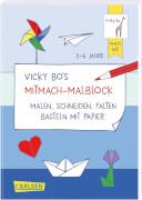 Vicky Bo's Mitmach-Malblock Papier