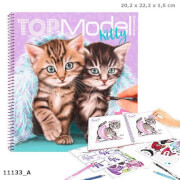 Create your TOPModel Kitty Malbuch