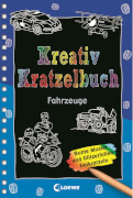 Loewe Kreativ-Kratzelbuch: Fahrzeuge