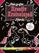 Loewe Mein großer Kreativ-Kratzelspaß: Pferde