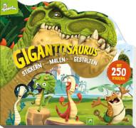 Gigantosaurus - Stickern-Malen-Gestalten