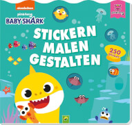 Baby Shark - Stickern-Malen-Gestalten