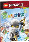 LEGO® NINJAGO® Rätsel-Malspaß mit Comics