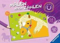 Ravensburger 026081 Malen nach Zahlen Ponygeschichten