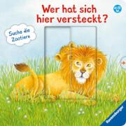 Ravensburger 026159 Wer hat sich hier versteckt? Suche die Zootiere