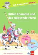Ritter Konradin und das rülpsende Pferd mit eBook, Lesebuch, 32 Seiten, ab 6-8 Jahren