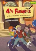 4 1/2 Freunde: ''4 1/2 Freunde und der Panther im Pausenhof''. Fester Einband, 96 Seiten, für Kinder ab 8 Jahre.
