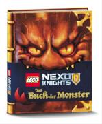 LEGO® Nexo Knights - Das Buch der Monster, Beschäftigungsbuch, 96 Seiten, ab 8 Jahren