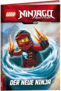 LEGO® NINJAGO - Der neue Ninja, Lesebuch, 64 Seiten, ab 6 Jahren