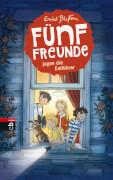 Fünf Freunde jagen die Entführer Band 13, Gebundenes Buch, 160 Seiten, ab 8 Jahren