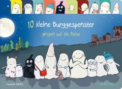 Buch Susanne Göhlich, 10 kleine Burggespenster gingen auf die Reise