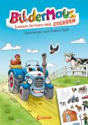 Loewe Bildermaus Lesen lernen mit Stickern - Geschichten vom Traktor Bulli