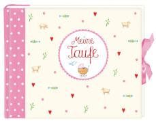Eintragalbum - Meine Taufe, rosa