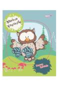 NICI Kindergarten-Freundebuch Eule