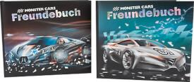 Depesche 6033 Monster Cars Freundebuch