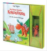 Der kleine Drache Kokosnuss Buchset mit 3D Kokosnuss