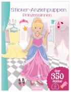 Ars Edition - Sticker Anziehpuppen Prinzessinnen, Taschenbuch, 24 Seiten, ab 5 - 7 Jahren