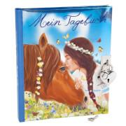 Depesche 6367 Miss Melody Tagebuch mit Stickern, Motiv 1, Pferd u. Mädchen