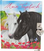 Depesche 6368 Miss Melody Tagebuch mit Stickern, Motiv 2, zwei Pferde