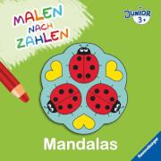 Ravensburger 027675 Malen nach Zahlen junior: Mandalas