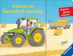 Ravensburger 025565 Entdecke die Bauernhof-Fahrzeuge
