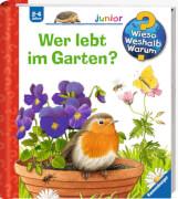 Ravensburger 32879 Wieso? Weshalb? Warum? junior 49: Wer lebt im Garten?