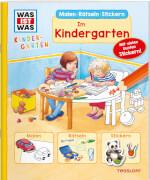 Tessloff WAS IST WAS Kindergarten Malen Rätseln Stickern Im Kindergarten